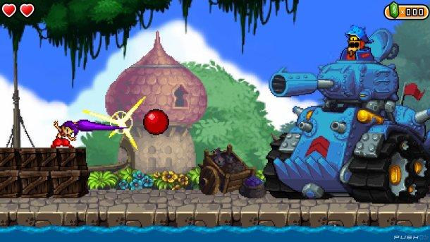 Shantae   Tank Boss