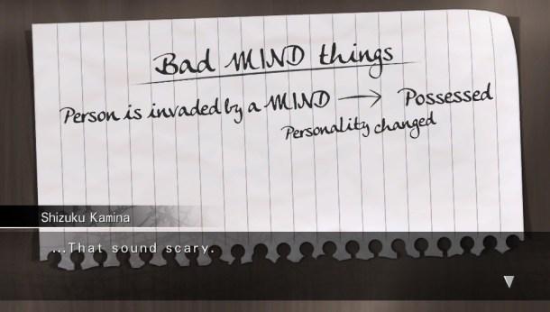 Mind Zero | Grammar Error