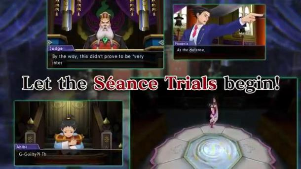 Ace Attorney | Séance Trials