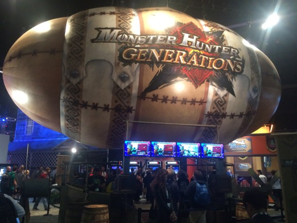 Monster Hunter Generations | E3 2016 Booth