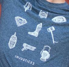 Injustice 2 tshirt