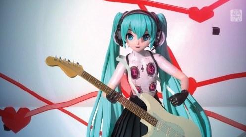 Hatsune Miku: Project DIVA Future Tone x P4D In-game 4