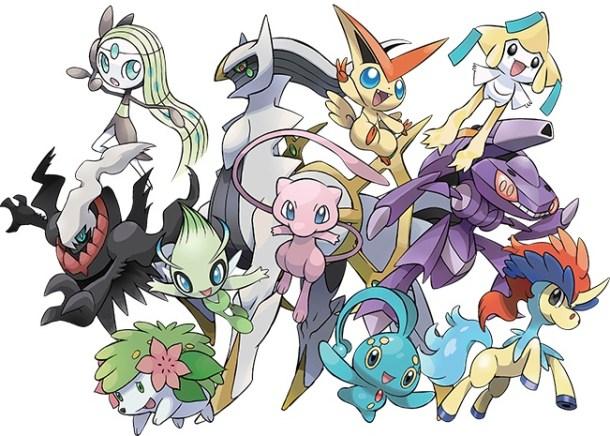 Pokemon Mythicals
