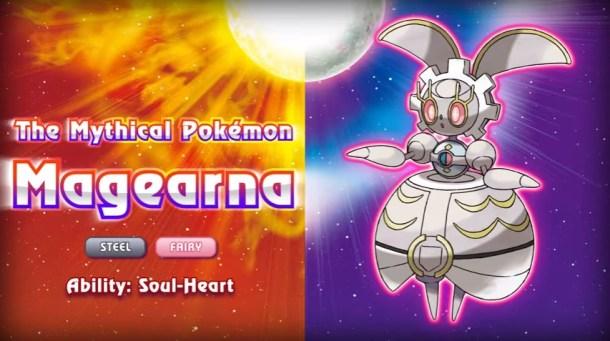 Pokémon Sun and Moon Magearna