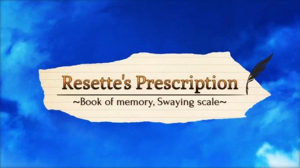 Resette's Prescription Title Image
