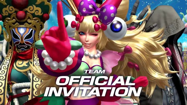 King of Fighters XIV | Team Official Invitation