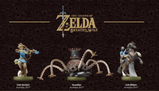 Zelda: Breath of the Wild Amiibo