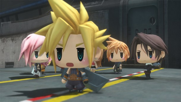 World of Final Fantasy | oprainfall
