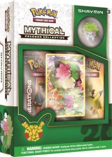 20th Anniversary Mythical Pokemon Collection Shaymin