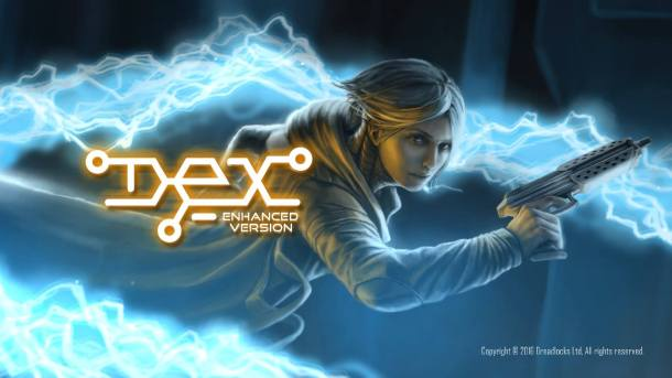 Dex | Dex Enhanced Edition Title Screen