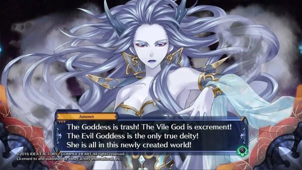 Fairy Fencer F: Advent Dark Force | Evil Goddess