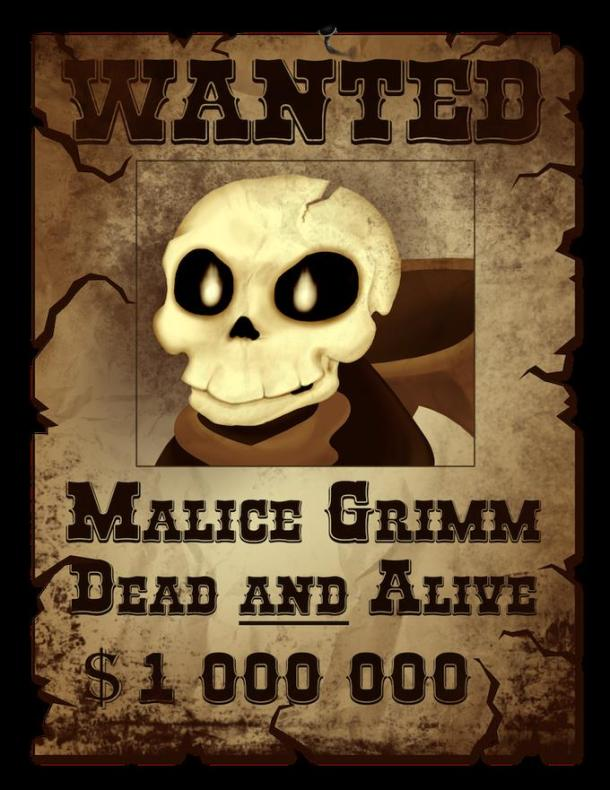 Grave Danger | Wanted Poster