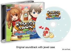 HARVEST MOON SKYTREE VILLAGE LIMITED EDITION OST