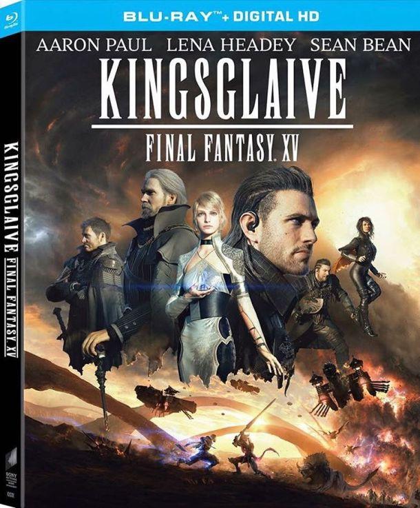 Kingsglaive: Final Fantasy XV Blu-ray box art