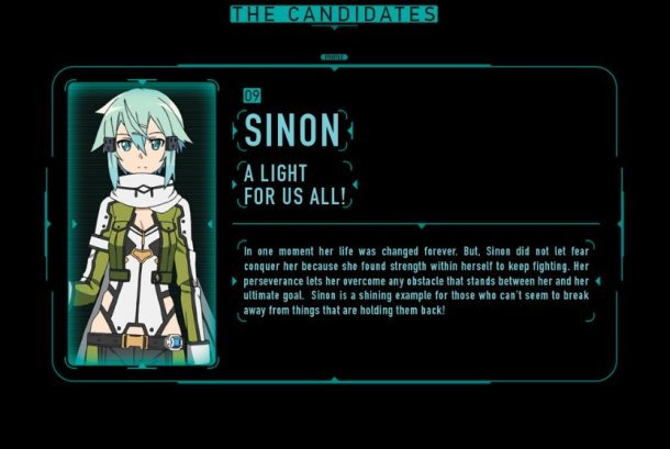 SAO Election 2016 |Sinon
