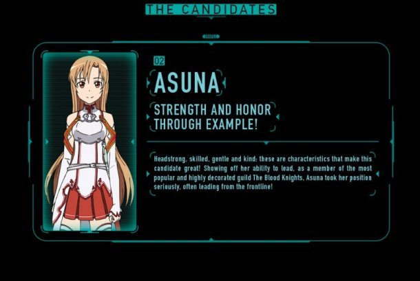 SAO Election 2016 | Asuna