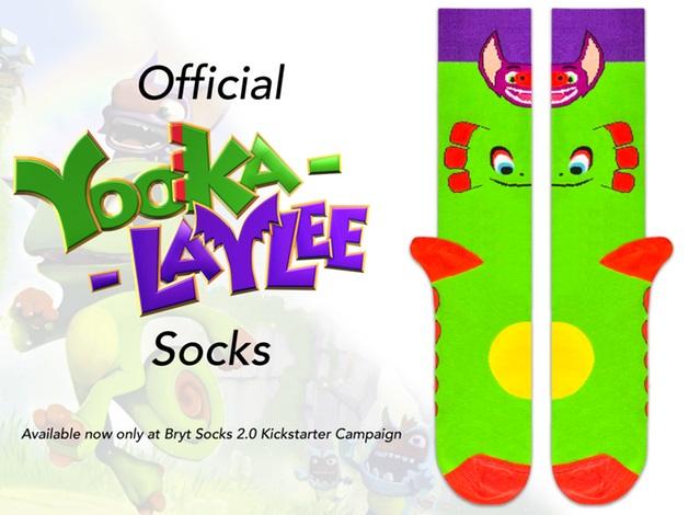 Yooka-Laylee socks