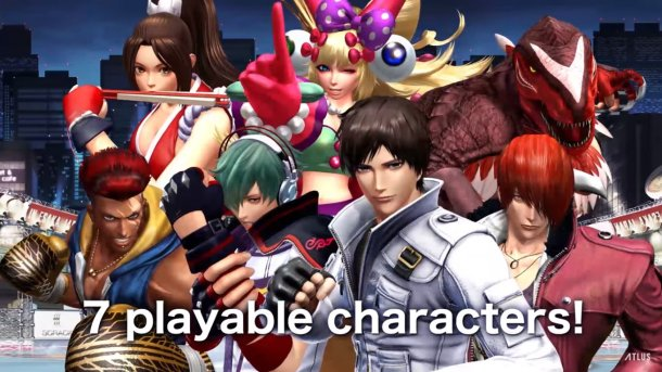 The King of Fighters XIV | Demo Characters