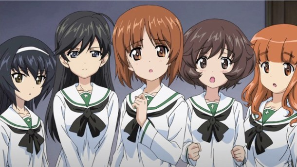 Girls & Panzer | Cast