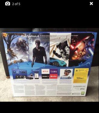PS4 Slim box
