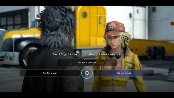 Final Fantasy XV | Dialogue choices