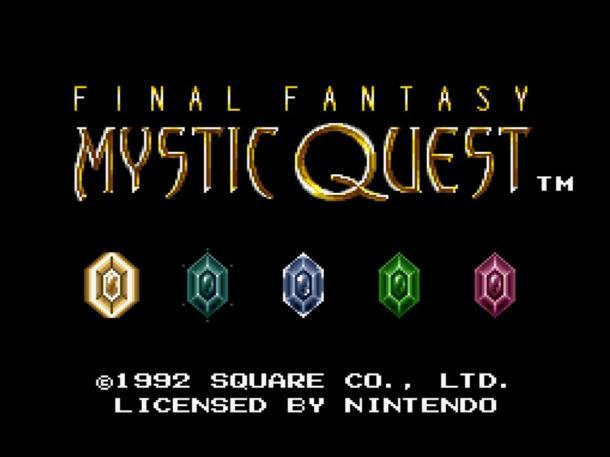 Countdown to Final Fantasy XV | Final Fantasy Mystic Quest Countdown Image
