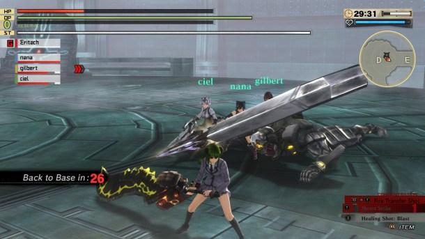 God Eater 2 Rage Burst | Dead Aragami