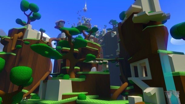 Windlands l Screenshot of gameplay