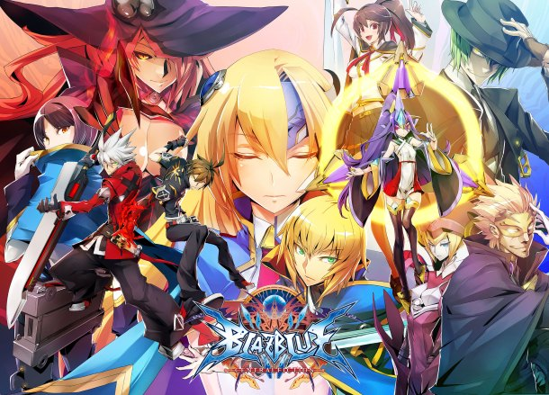 Blazblue Centralfiction | Key Art