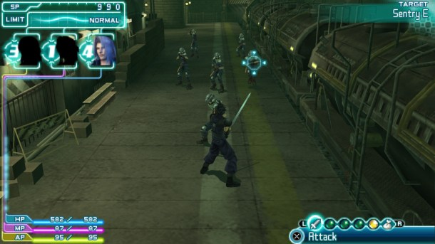 Countdown to Final Fantasy XV | Crisis Core Final Fantasy VII Screenshot 1