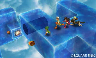 Dragon Quest VII | Dungeon Puzzles