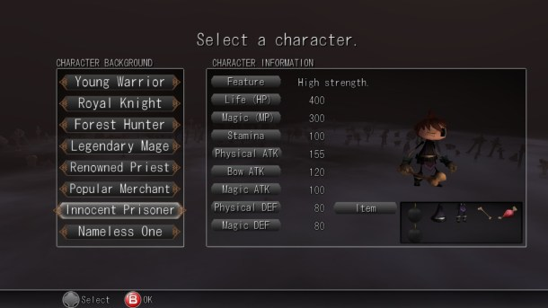 Inferno Climber   Character Select