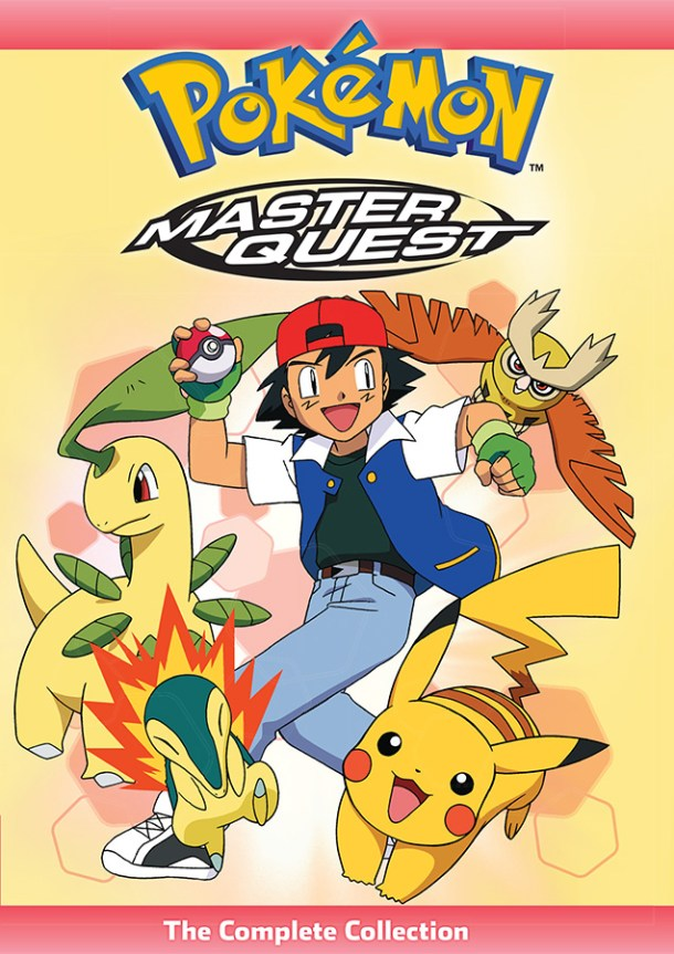 Pokémon: Master Quest | Cover Art