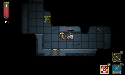 Quest of Dungeons | A pesky rat appears.