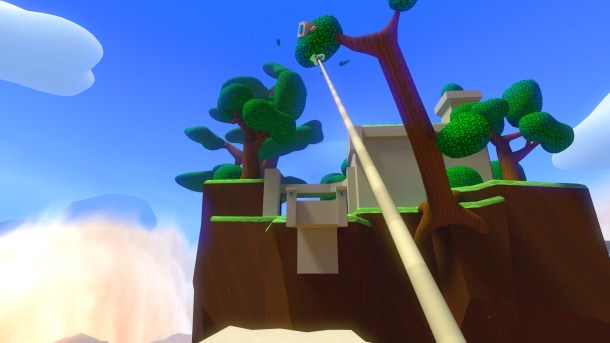 Windlands l Hooking to a tree