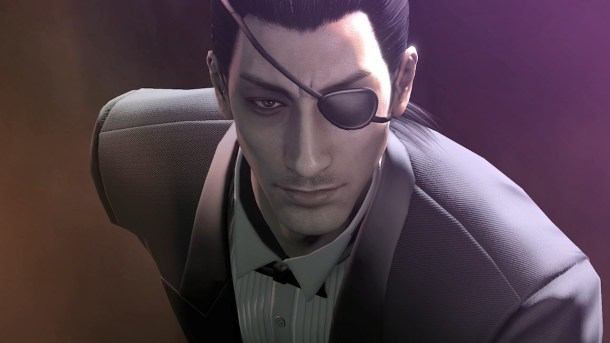 yakuza 0 goro majima PlayStation Exclusive