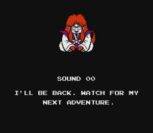 Kabuki Quantum Fighter | End Screen
