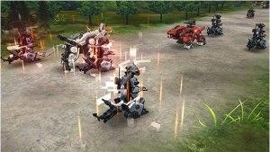 Zoids Field of Rebellion   Screenshot