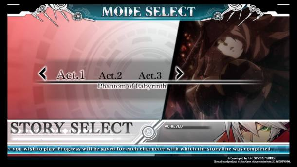 BlazBlue Central Fiction   Arcade Mode