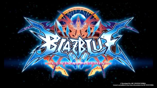 BlazBlue Central Fiction | Title Screen 2