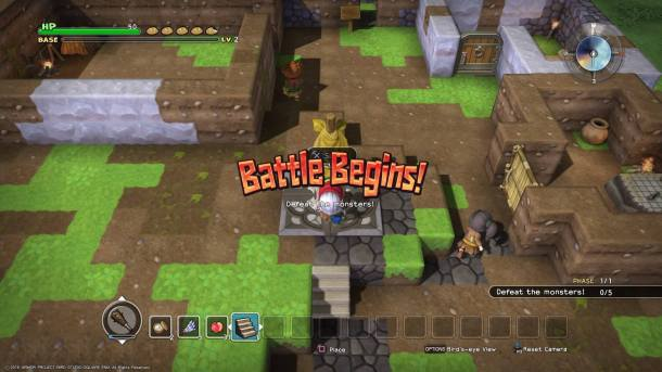 Dragon Quest Builders | Combat