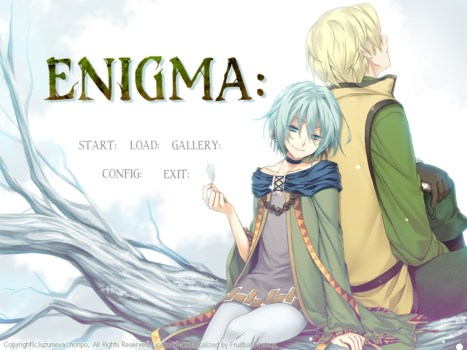 ENIGMA: Title Screen