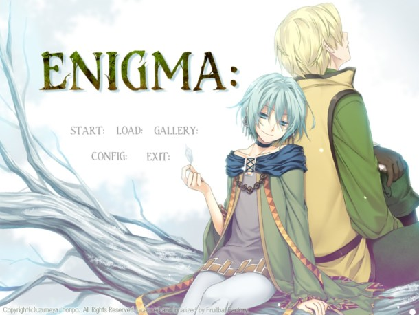 ENIGMA: | Title Screen