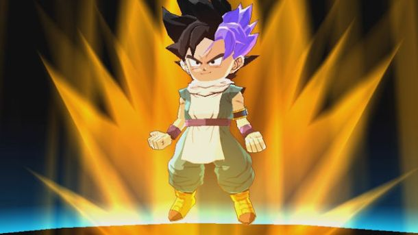 Dragon Ball Fusions | Fused Gohan and Trunks
