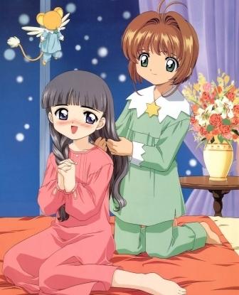 Cardcaptor Sakura | Sakura, Tomoyo, and Kero-chan