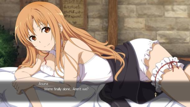 Sword Art Online: Hollow Realization | Asuna Bed