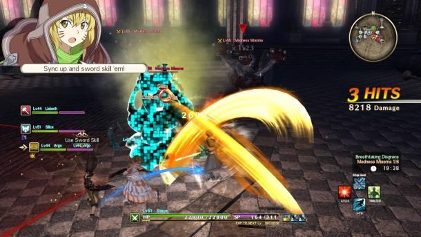 Sword Art Online: Hollow Realization | Sword Skill