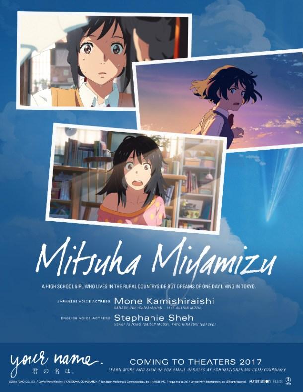 Your Name | Mitsuha Miyamizu