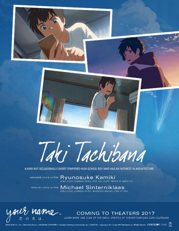 Your Name | Taki Tachibana