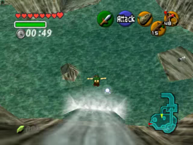 Ocarina of Time | Diving Link